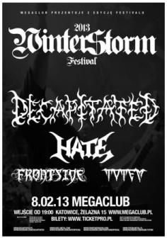 Decapitated, Hate, Frontside, Totem – Mega Club, Katowice