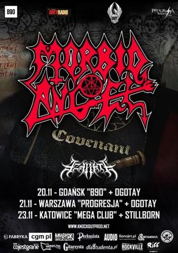 Morbid Angel/Azarath/Ogotay-Progresja Music Zone, Warszawa