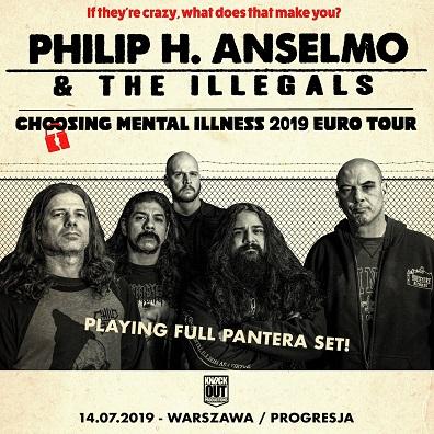 "Philip H. Anselmo & The Illegals ""Pantera Set"" w Warszawie"