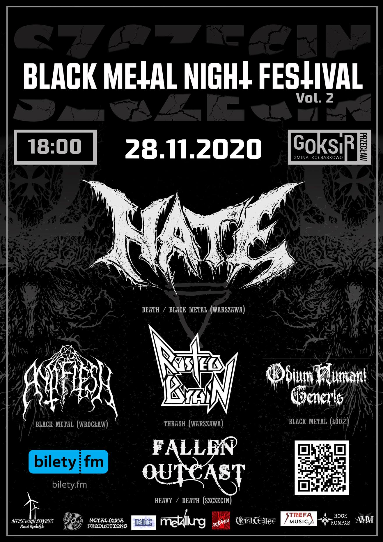Black Metal Night Festival Szczecin vol.2