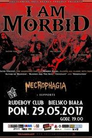 I Am Morbid, Necrophagia, Helsott, Offence – RudeBoy Club, Bielsko-Biała
