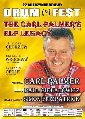 DRUM FEST: CARL PALMER'S ELP LEGACY – CHORZOWSKIE CENTRUM KULTURY, CHORZÓW