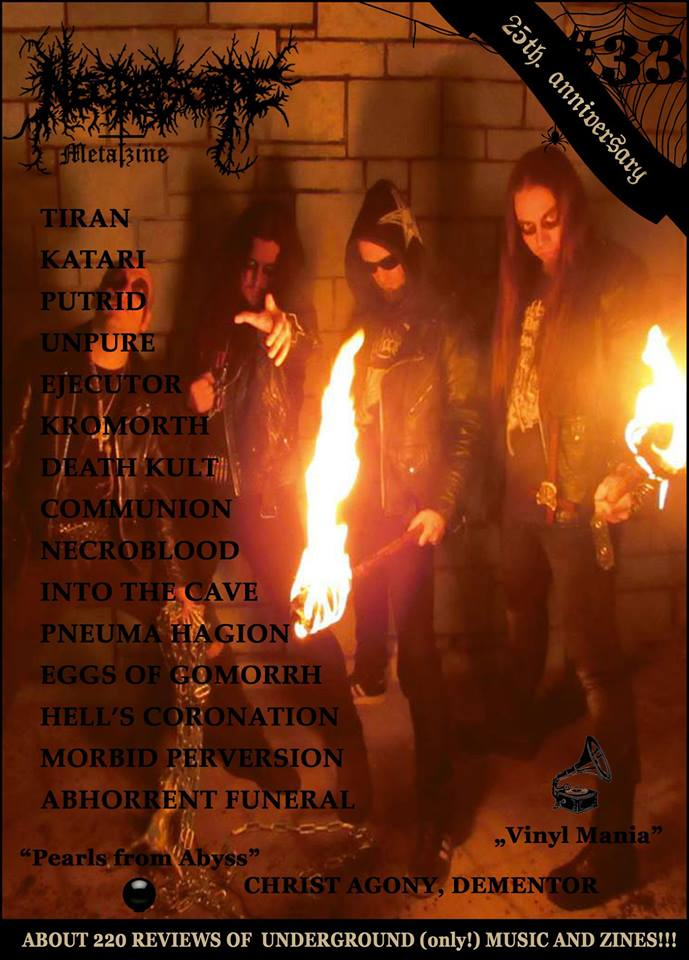 NECROSCOPE Metalzine #33