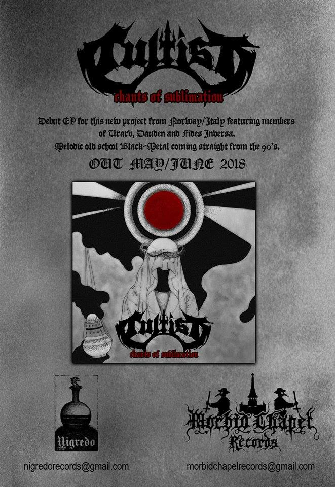 Debiut CULTIST na CD w Morbid Chapel Records i Nigredo Records