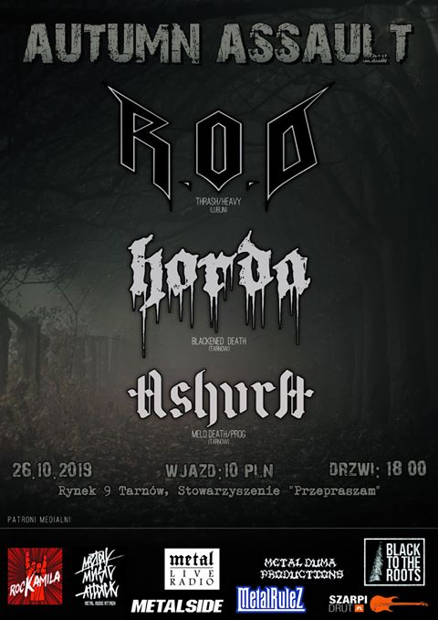 Autumn Assault – R.O.D, Horda, Ashura