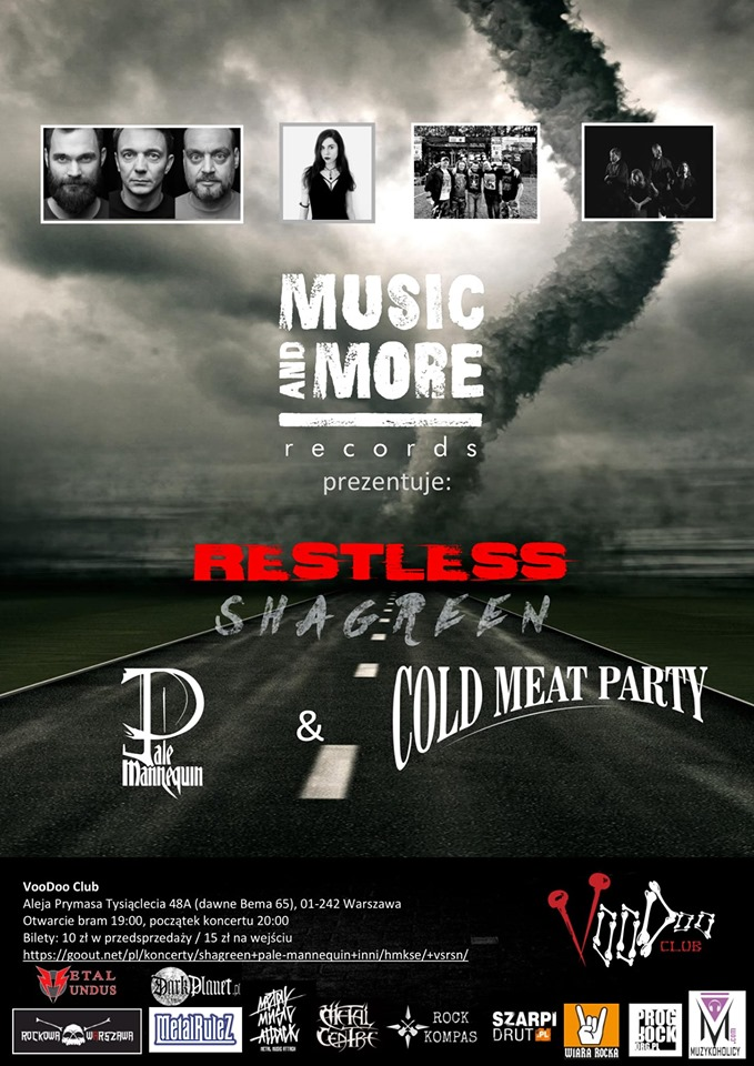 Music & More Presents: Shagreen x Pale Mannequin x CMP x Restless