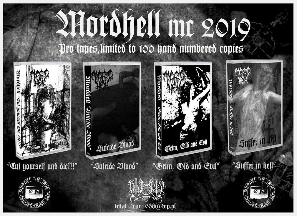 Wznowienia Mordhell na taśmach