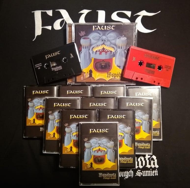 Nowy materiał Faust na kasecie, płycie cd i bandcampie.