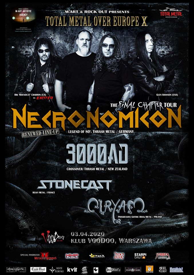 Necronomicon, Ciryam, 3000ad, Stonecast