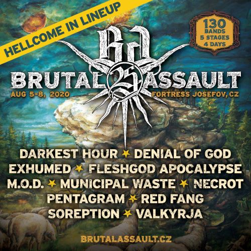 Mercyful Fate na Brutal Assault!