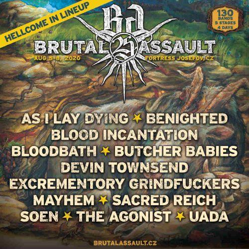 Kolejne kapele dołaczaja do składu Brutal Assault 2020