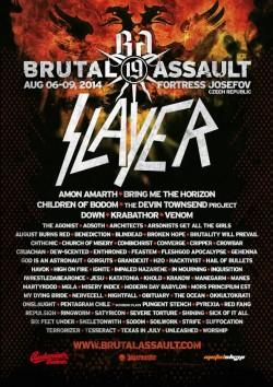 Brutal Assault 2014, Twierdza Josefov, 06-09.08.2014r.