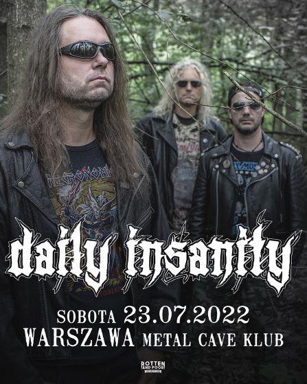 koncert Daily Insanity w Warszawie!