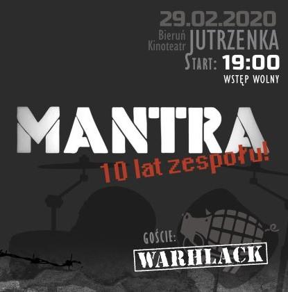 10 lat zespołu Mantra