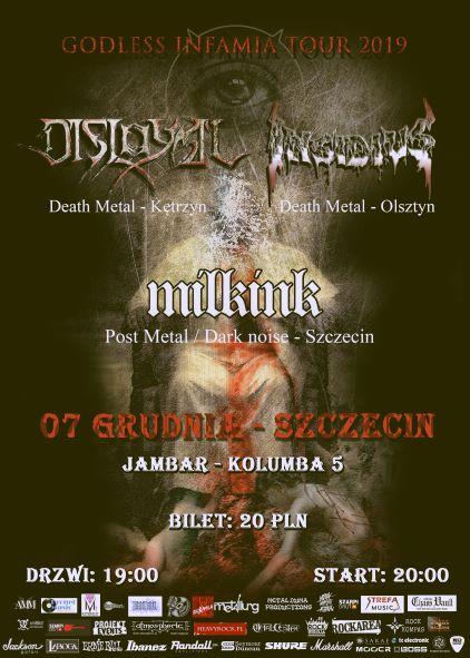 GODLESS INFAMIA TOUR 2019 – Szczecin