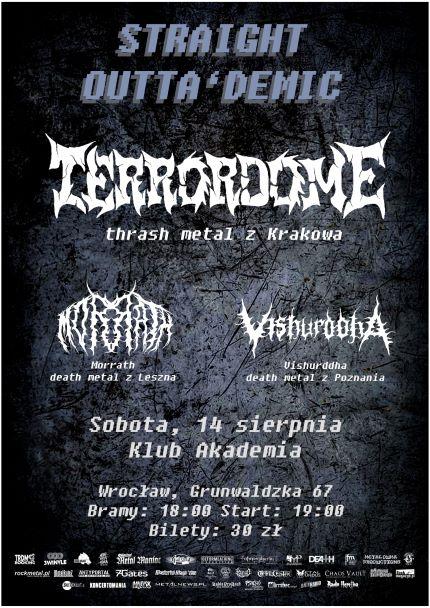 Terrordome – 14.08.21 – Wrocław, Akademia
