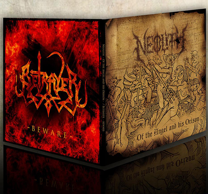 Betrayer / Neolith – 7″ split
