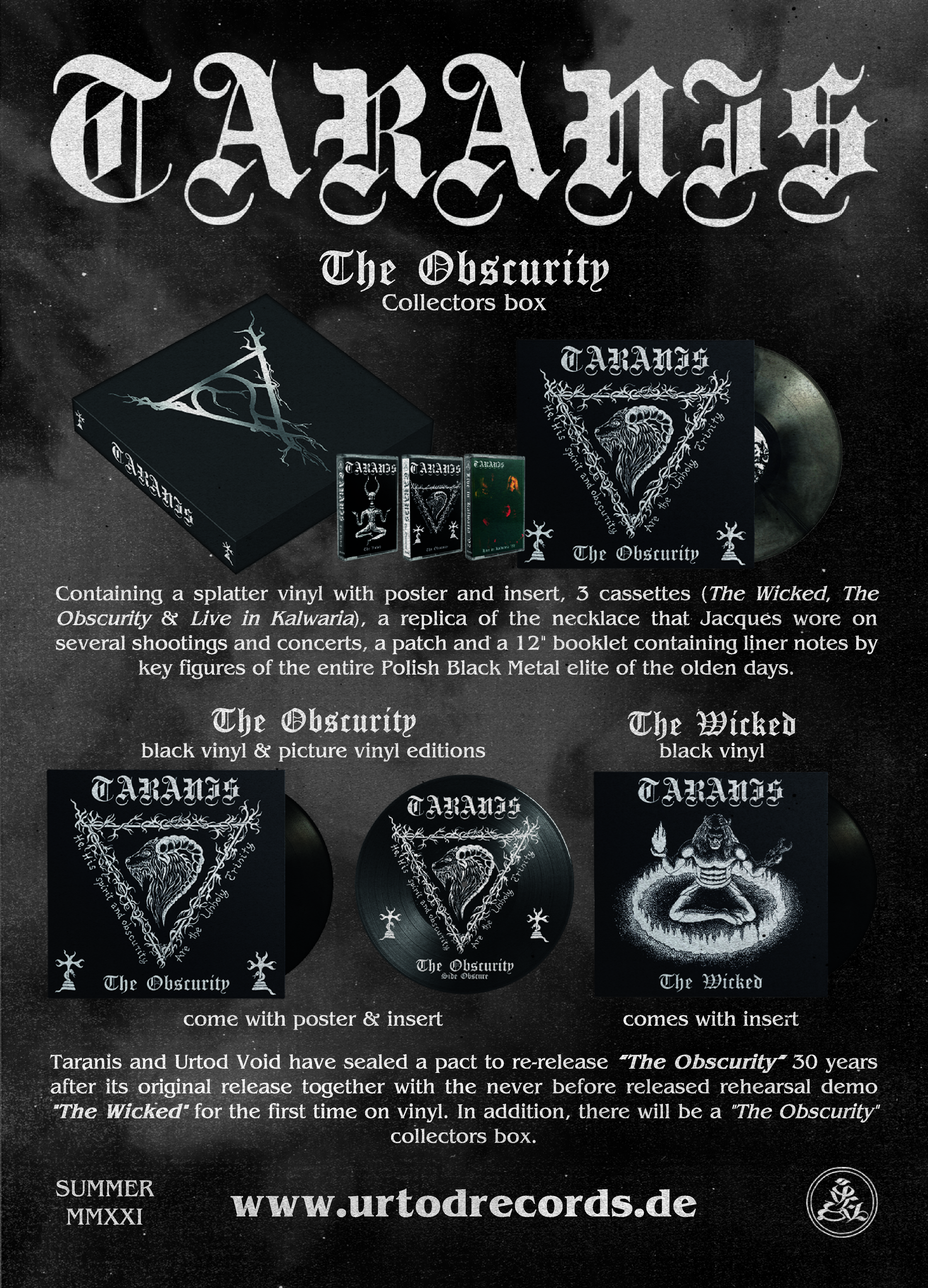 "Taranis ""Obscurity"""