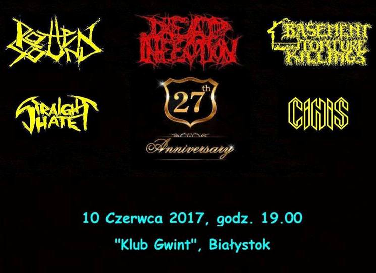 XX7 Anniversary of DEAD INFECTION