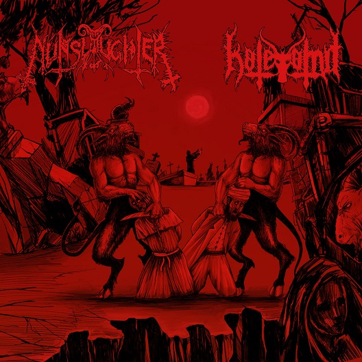 Hatevömit / NunSlaughter – split