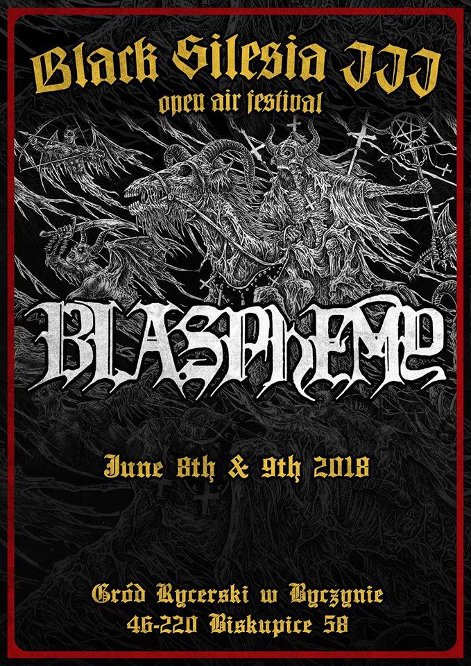 Black Silesia III – Blasphemy headlinerem, nowa lokalizacja