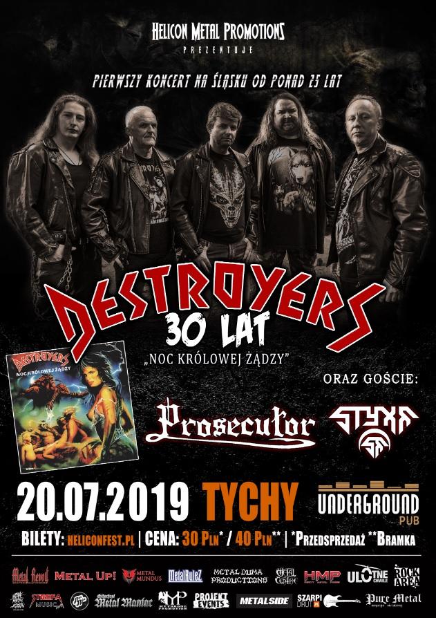 DESTROYERS wraca na Śląsk po ponad 25 latach!