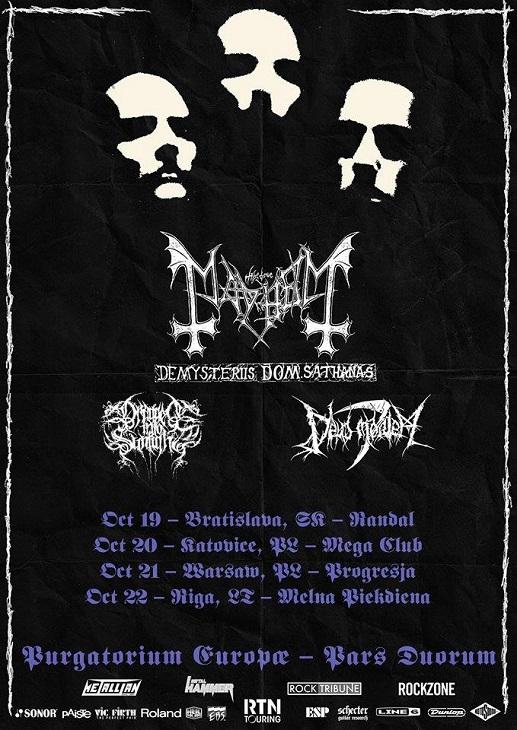 Mayhem + supporty – Mega Club, Katowice
