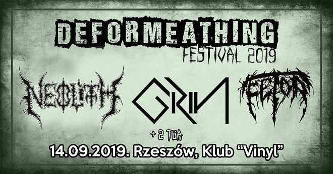 Neolith, Grin i Fetor na DEFORMEATHING Festival 2019.