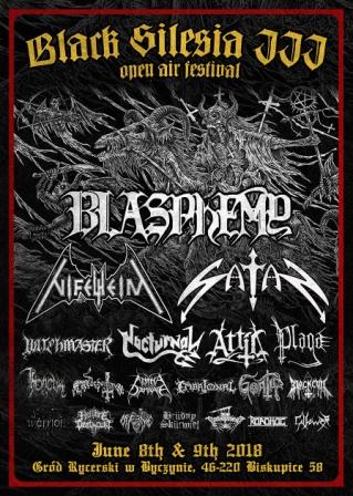 Black Silesia Open Air z udziałem Blasphemy Nifelheim i Satan już w czerwcu!