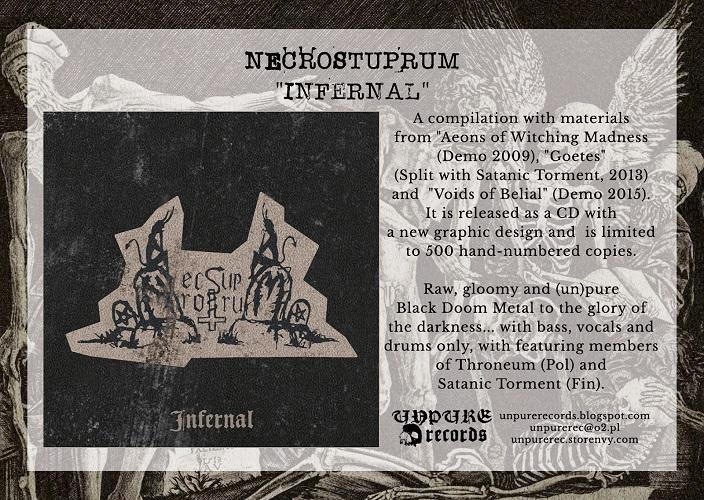Kompilacja nagrań Necrostuprum już jest