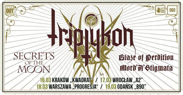 Mini-trasa Triptykon: Nowe miejsce koncertu we Wrocławiu