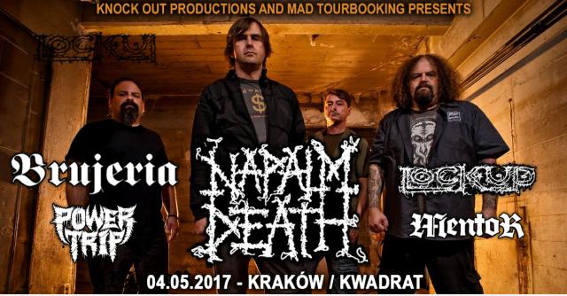 Lock Up kolejnym supportem przed Napalm Death!
