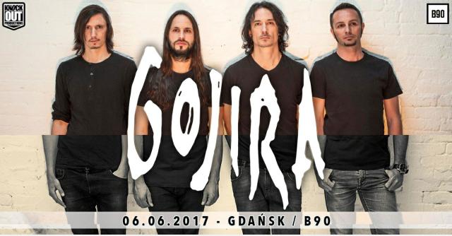 Gojira wystąpi w Gdańsku
