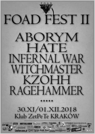 Aborym i Hate na tegorocznym FOAD FEST