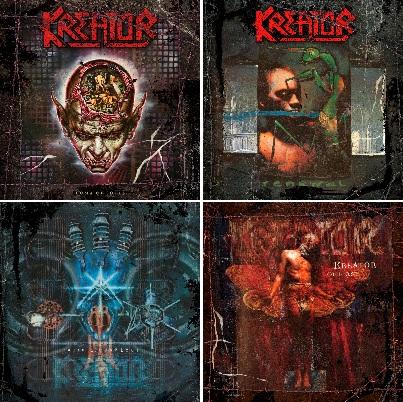 Reedycje albumów Kreator z lat 90.