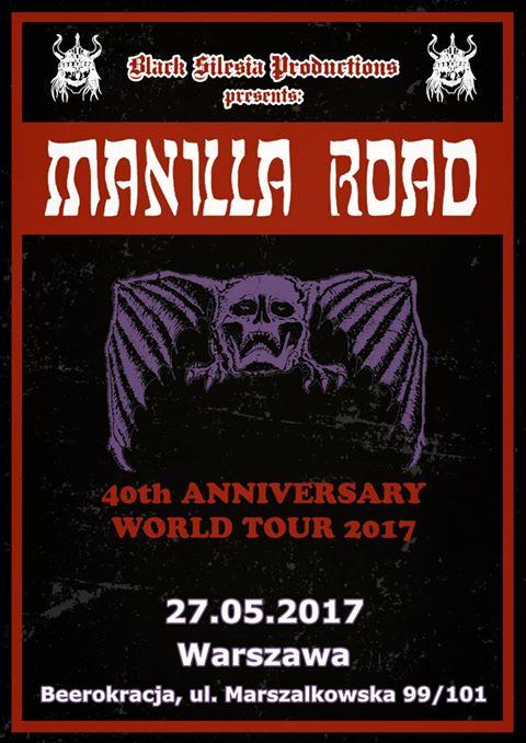 Manilla Road po raz pierwszy w Polsce
