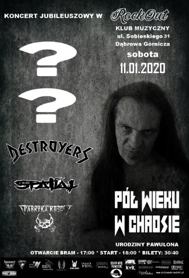 Destroyers zagra 11. stycznia w Dąbrowie!