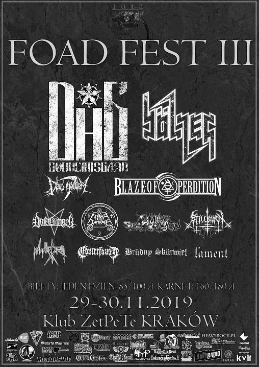 Foad Fest III