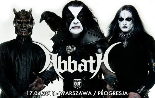 Abbath w Polsce!