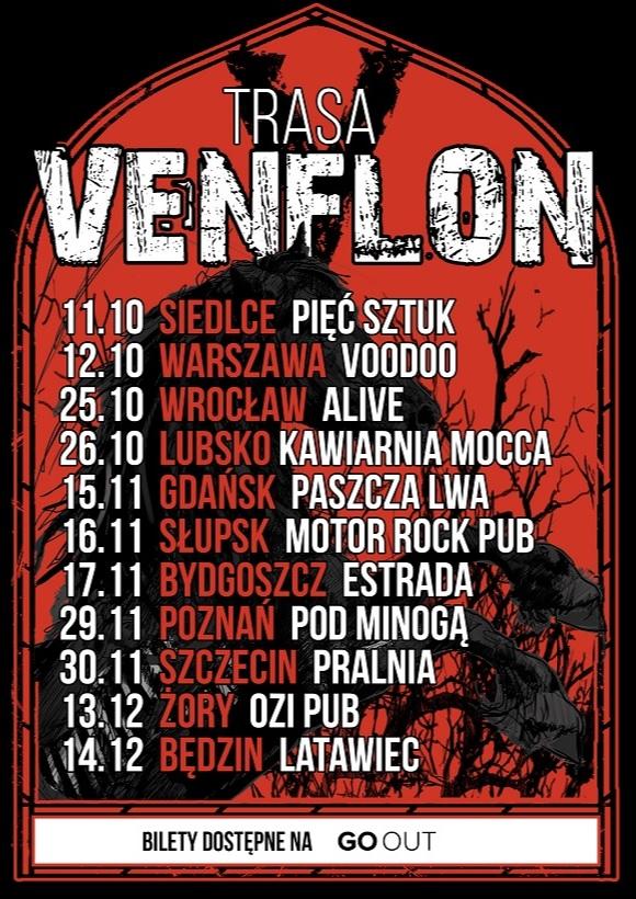 Venflon ogłasza jesienną trasę koncertową!
