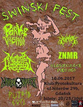 Świński FEST Porky Vagina Nuclear Holocaust Unborn Suffer + MORE 10.06.2017