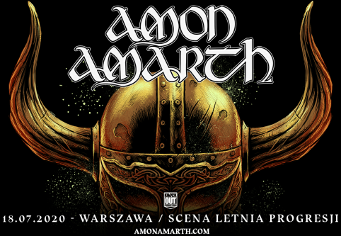 Knock Out Productions prezentuje koncert Amon Amarth w Warszawie!