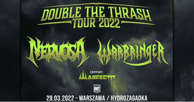 Nervosa i Warbringer na wspólnym koncercie w Polsce