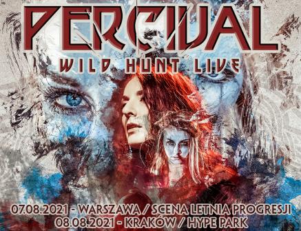 "Percival: ""Wild Hunt Live"" na dwóch letnich koncertach"