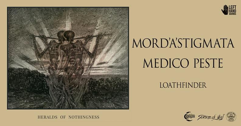 Mord'A'Stigmata na trasie z Medico Peste i Loathfinder!