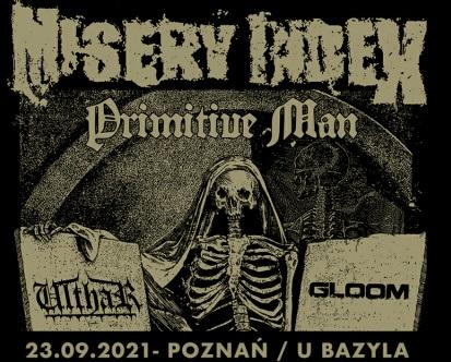 Misery Index NIE wystąpi w Poznaniu