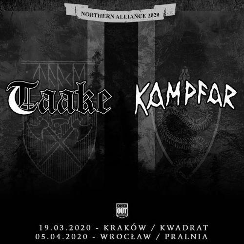 Taake i Kampfar dwukrotnie wystąpią w Polsce